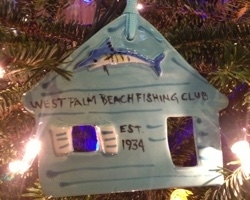 WPBFC Christmas Tree Ornament