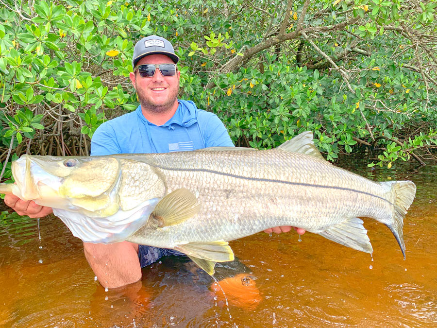 colton cunningham with 44.5in snook