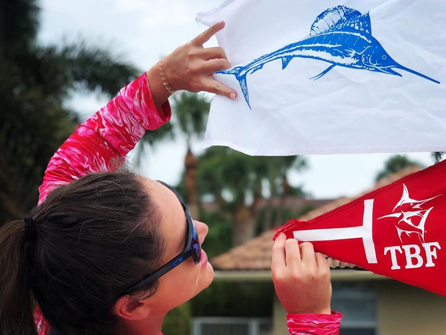 sailfish release flags
